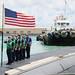 USS Houston arrives in Guam.