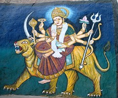 Hindu Wall paintings, Central-India (Elena14u2012) Tags: wall paintings hinduism centralindia
