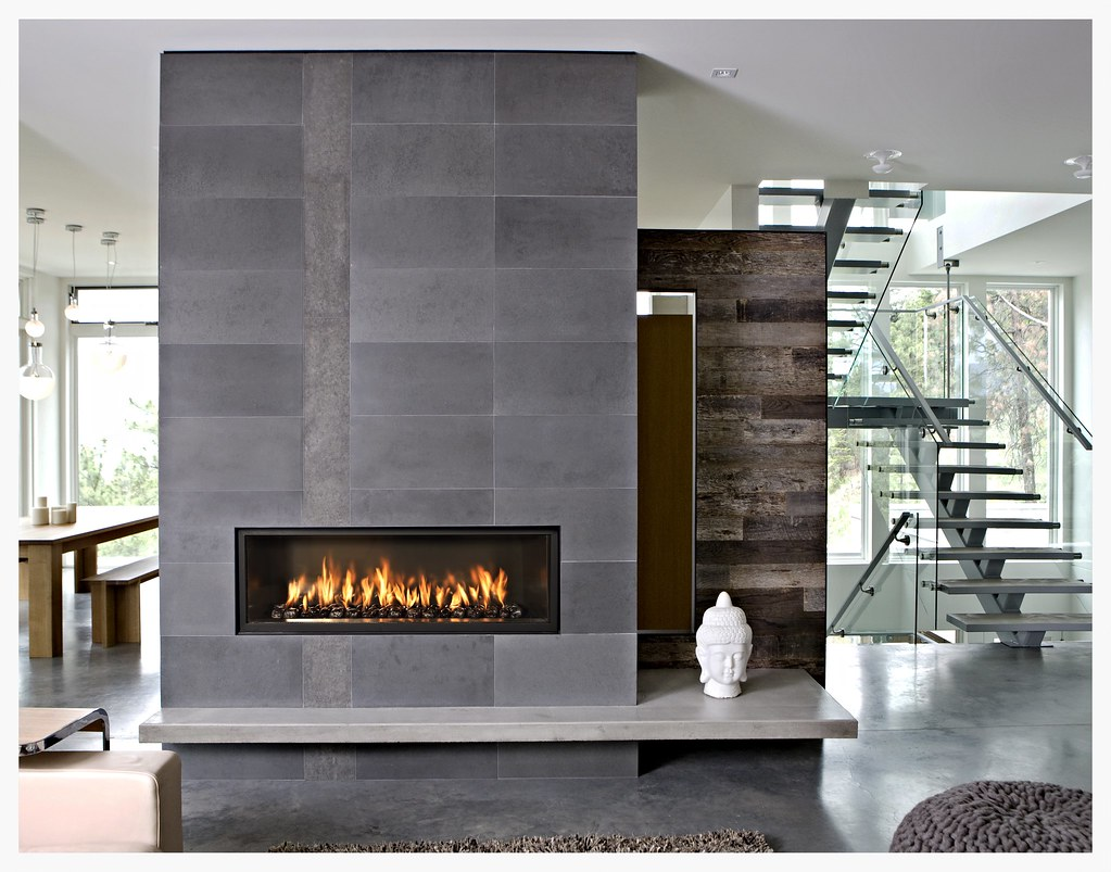Town & Country TC54WS linear fireplace