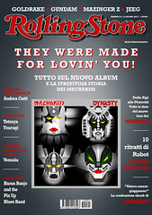 MechaKiss (http://www.agatti.com) Tags: music rock magazine robot contest fake cover gonagai gundam genesimmons dynasty mecha rollingstone copertina paulstanley goldrake grendizer mazinger concorso tomino jeeg illustrazione mazingaz