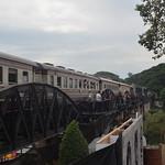 Bridge on the River Kwae with train 12-2-14 thumbnail