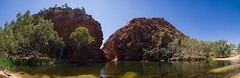 Ellery Creek (Guille Barbat) Tags: nature australia panoramic northernterritory ladscapes ellerycreek westmacdonnellnationalpark guillebarbat