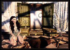Here Comes the Sun... (beloved.ruby) Tags: fall apple shiny style zenith shabby besom unkindness slhair applefall fameshed shinyshabby