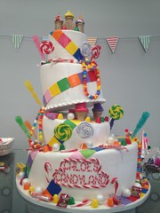 (3813) (Asweetdesign) Tags: cake fun 3d colorful candy birthdaycake edible candyland fondant childbirthday candycake