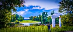 Kensington Gardens (S.A.W. Pixels) Tags: england sky blur london monument water landscape chelsea cityscape central kensington kensingtongardens panaroma citysccape