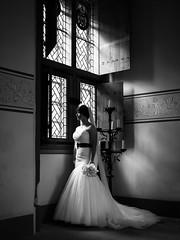 Bridal Portrait (Zphotography!) Tags: wedding portrait window mediumformat bride scotland stirling windowlight scottishwedding stirlingcastle weddingphotographer weddingphotography zeephoto wwwzeephotocouk pentax645z 2015zeephoto