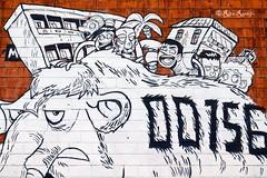 Roma. Metro Rebibbia. Street art. 'Welcome to Rebibbia' by Zerocalcare (R come Rit@) Tags: b urban italy streetart elephant rome roma muro art station wall project subway photography graffiti italia arte streetphotography wallart urbanart mammoth walls graff graffitiart muri mammut arteurbana metrob rebibbia graffitirome romegraffiti graffitiroma streetartrome streetartphotography romastreetart streetartroma romestreetart urbanartroma zerocalcare metrorebibbia ritarestifo urbanbreathproject romeurbanart welcometorebibbia