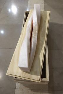 Exposición 'Leonardo' Homenaje del Arte a la Ciencia en la sede del CSIC. 'Twisted Gurugú' de Manuel Franquelo Giner.  © JOAN COSTA