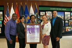DSC00398 (U.S. Army Garrison - Miami) Tags: army coast force purple florida miami military air south families guard navy ceremony pride joe domestic walker violence marines kindness pao awareness prevention partnership doral garrison mcqueen southcom gentleness usag imcom fmwr