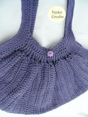 SAM_0428 (tejidoscirculos) Tags: bag handmade crochet cartera bolso ganchillo uncinetto fatbag hakeln tejidoscirculos