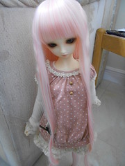 Casual in Pink (鼠チビ) Tags: bjd superdollfie volks sd10 sdg f01 leekeworld 撫子 nadeko chibirat3019 鼠チビ