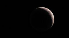 Moon Shadow - 1252-_MG_8884 (Robert Rath) Tags: shadow moon crescent astrophotography almost moonlight lunar moonset waxing
