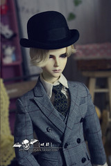 BJD/SD Dolls Wool Felt Bowler Hat (For Sale) (-Joyce.Park-) Tags: hats bjd