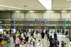 Tokyo VIII (bold.) Tags: trip vacation people white holiday station japan underground subway tokyo asia flickr sony railway jr alpha shinkansen 6000 2015