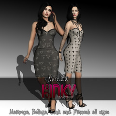 Merlfic - Chandy Sensual Dress Teaser ((Merlific Owner)) Tags: life new news look fashion goth sl event secondlife second elegant exclusive punky kinky belleza maitreya slink fittedmesh merlific