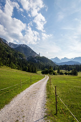 The trail to neverland (TeeJay_S) Tags: castle nature germany outside outdoors europe explore neuschwanstein natuer