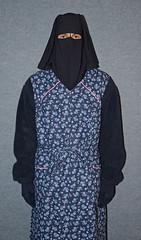 Slave charwoman in summer work uniform (Warm Clothes Fetish) Tags: winter hot girl fur warm coat hijab apron sweat niqab maid slave burka chador charwomen