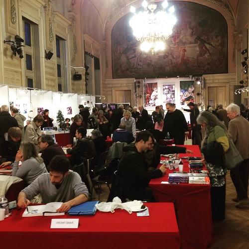 Festival Paris Polar à la Mairie de #paris13