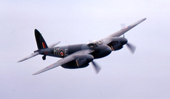 RAF Mosquito RR299 at Woodford in 1973 (EdWalton) Tags: mosquito raf woodford dehavilland royalairforce