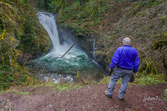 2015-07869 (jjdun7) Tags: water oregon creek forest river landscape waterfall buttecreekfalls santiamstateforest