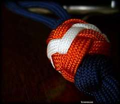 Paracord Pineapple Knot Lanyard/Fob (Stormdrane) Tags: camping orange make wall design diy fishing keychain sailing hiking decorative knife tie utility auburn knot glowinthedark backpacking gift pineapple howto boating geocache flashlight create edc teach weave share learn navyblue braid scouting stopper fob gutted everydaycarry useful lanyard wareagle paracord retention bushcraft twostrand stormdrane