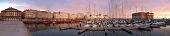 Drsena de La Marina... (Leo ) Tags: atardecer corua barcos ships ciudad galicia cristal veleros cristaleras lamarina drsena