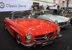 300SL Roadster (Schwanzus_Longus) Tags: essen motorshow motor show german germany old classic vintage car vehicle coupé coupe gullwing mercedes benz 300sl sport sports roadster
