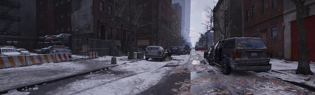 tom clancys the division ubisoft pano panorama new york city puddle reflections computergraphic digital digitallygenerated digitallygeneratedimage 3d background computer game graphics video gaming gamingscreenshot games gamingart gallery gamingpicture pics pc pic picture photography photo sceenshot screenshots screen shot shots nvidia gpu pharaohglyph