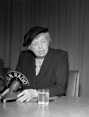 Eleanor Roosevelt Gives Press Conference at UNHQ (United Nations Photo) Tags: rights humanrights universaldeclarationofhumanrights