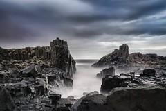 Basalt (karan.varshnei) Tags: ifttt 500px long exposure sunrise cliffs seascape sea summer clouds coast water beach