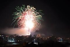 Happy New 2017!!! (mmalinov116) Tags: new 2017 happy year брезник българия breznik bulgaria firework show night colors colorful