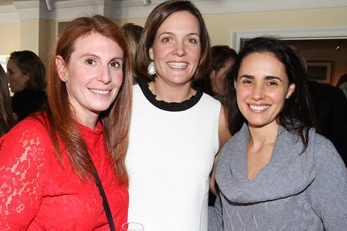 Nicole Stocks, Emma Hanratty and Maria Ryan