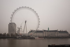 London Dec 2016 - London Eye (Philippe Clabots (#PhilippeCPhoto)) Tags: philippecphoto nature angleterre brouillard england grandebretagne hiver london londres météo philippec saison season uk unitedkingdom winter