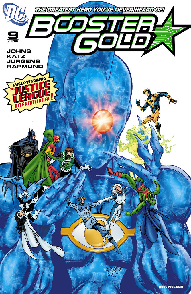 Booster Gold (2007) #9