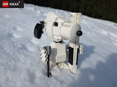 Much snow, very fun (yetanothermocaccount) Tags: lego moc snoopy ideas peanuts ski skiing