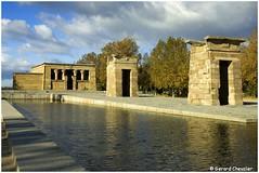 Madrid - Le temple d'Amon (Debod) (gerard21081948) Tags: espagne españa temple madrid debod amon egypte 1972 extérieur architecture colonnade colonne