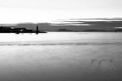 Paseo por Bouzas (Foxspain Fotografía) Tags: paseo bouzas vigo paseobouzas led photography larga exposicion largaexposicion diurna bn blanco negro blancoynegro long exposure