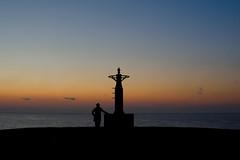 My  silhouette(私のシルエット) (daigo harada(原田 大吾)) Tags: sunrise silhouette myself 私 シルエット 小田原 odawara