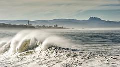 Sortie à la Barre d'Anglet le 10-12-2016 (Filigrane)-4 (yoyolg33) Tags: vert paysbasque côtebasque merocéanplageangletplagedelebarre