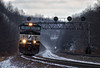 The Chilly Climb (Wheelnrail) Tags: ns norfolk southern locomotive emd ge railroad train trains pennsylvania pittsburgh line pitt prr cpl pl signals rail road portage lilly cold winter