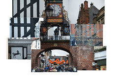 Eastgate Clock, Chester (samuel.t18) Tags: joiner nikon d3200 samuelt18 street chinese new year dragon parade crowds chester clock eastgate archietecture