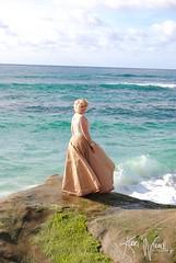 Out to Sea (KerriNikolePhotography) Tags: wedding vowrenewal renewingvows anniversary lajollacove beach sandiego california ceremony woman bride groom dress ocean waves wife handmade nikon nikond3000 kerrinikolephotography