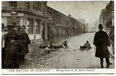 Battle of Stepney (1911) (The Wright Archive) Tags: seige siege sidney street battle stepney london vintage postcard valentines 1911 battleofstepney east end gunfight police army latvian immigrants revolutionaries policemen george gardstein rifles guns shot gunfire shootout social history uk twentieth century scots guards soldiers road rppc realphoto metropolitanpolice eastlondon wright archive 1900s
