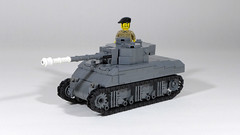 Sherman Firefly (Rebla) Tags: lego ww2 wwii world war ii rebla tank 145 sherman firefly