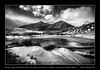 Frozen slough with Bellevue Hill, Mt. Galwey and the Horn, Waterton Lakes National Park, Alberta (kgogrady) Tags: infrared landscape winter waterton alberta canada 2016 blackandwhite canadianlandscapes blackwhite canadianrockies cans2s afternoon canadianrockieslanscape bw albertalandscapes canadianmountains canadiannationalparks ab frozen fujifilmxpro1 fujinon fujifilm clouds westerncanada parkscanada xpro1 windy xf18135mmf3556oiswr watertonlakesnationalpark peaks ice snow