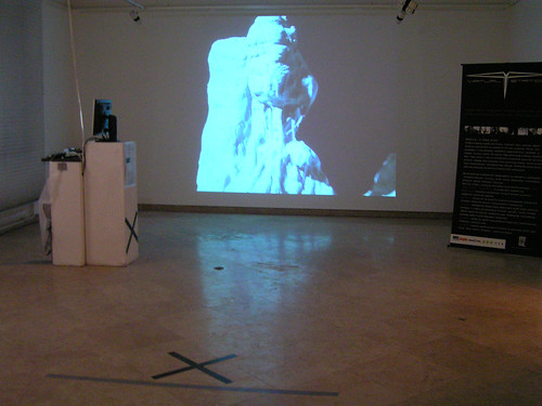 03. VIRTUAL STATION-interactive installation presentation-2006