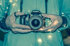 Just Shoot (AngelBeil) Tags: pentax teal twinkle