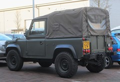 C733 OTW (Nivek.Old.Gold) Tags: 1986 land rover 90 softtop 2500cc diesel army