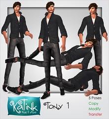 KaTink - Tony Set 1 (Marit (Owner of KaTink)) Tags: katink my60lsecretsale 60lsales 60l secondlife sl annemaritjarvinen 3dworlds photographyin3dworlds