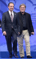 Reince Priebus & Steve Bannon (Gage Skidmore) Tags: steve bannon white house strategist reince priebus chief staff president donald trump cpac conservative political action conference 2017 national harbor maryland